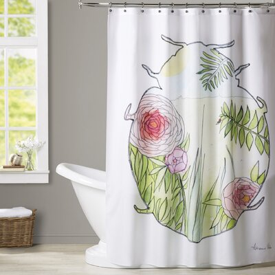 Loftin Ladybug Shower Curtain