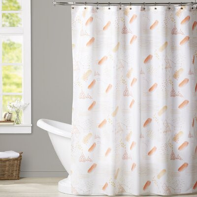 Perreira Creamsicle Shower Curtain