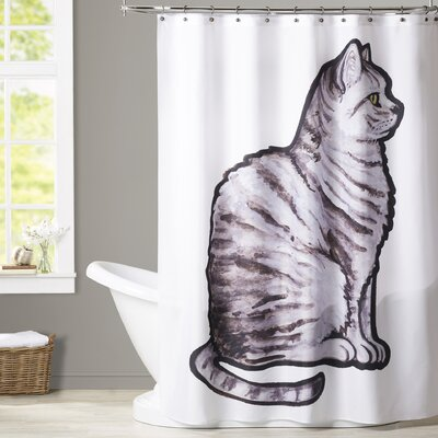Aldaco English Short Hair Shower Curtain