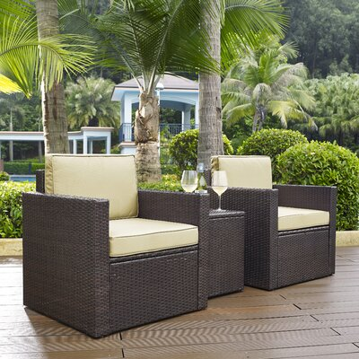 3-Piece Zorah Patio Seating Group