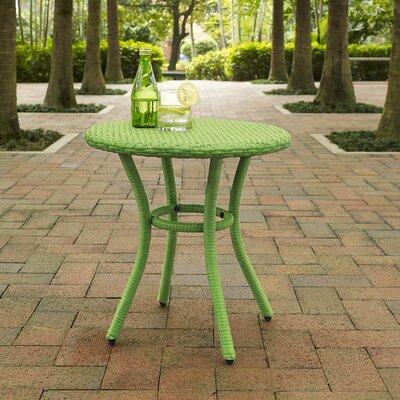Belton Round Side Table Finish: Green