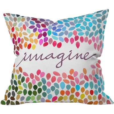 Arterburn Imagine Indoor/Outdoor Throw Pillow Size: Large