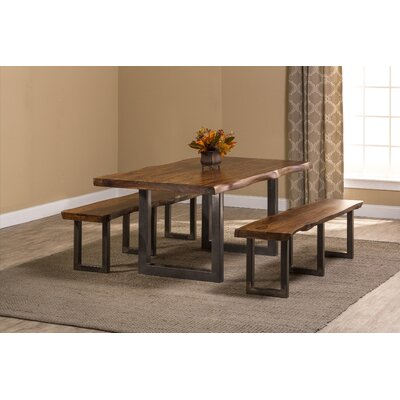 Linde 3 Piece Dining Set