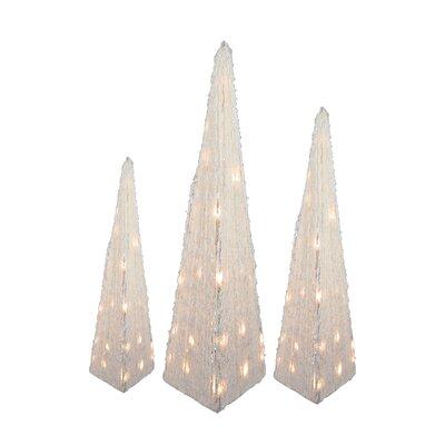 3 Piece Triangular Tree Set