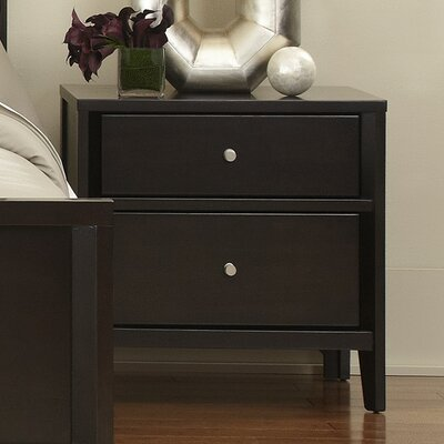 Lococo 2 Drawer Nightstand