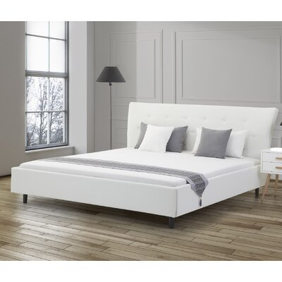 Loken Upholstered Platform Bed Size: King
