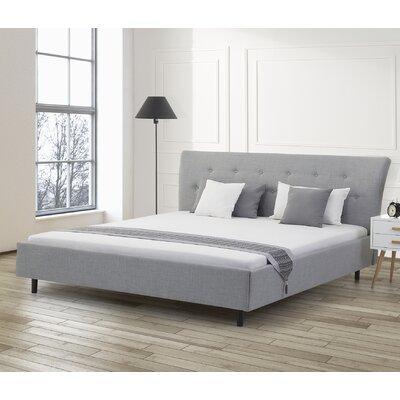 Loken Upholstered Platform Bed Size: King