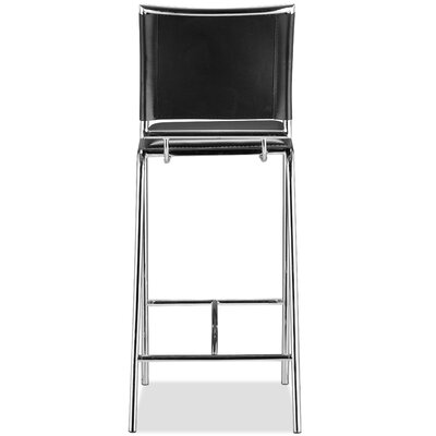 Korolevu 28.5 Bar Stool Upholstery: Black