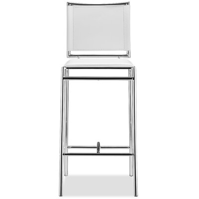 Korolevu 28.5 Bar Stool Upholstery: White