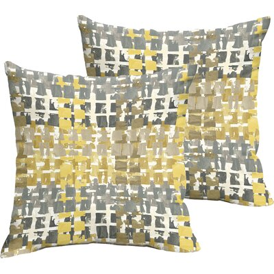 Bently Indoor/Outdoor Throw Pillow Size: 18 H x 18 W