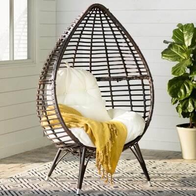 Brayden Studio Mcanally Teardrop Chair