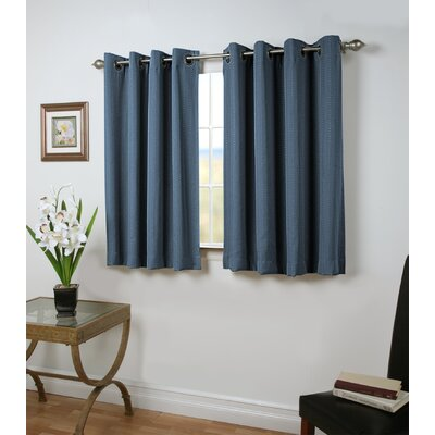 Louie Short Room-Darkening Thermal Single Curtain Panel