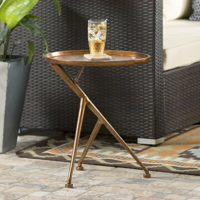 Brayden Studio Loggins Conductor Side Table