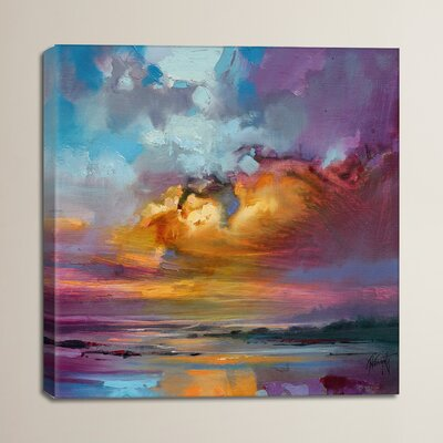 Consonant Sky by Scott Naismith Painting Print on Wrapped Canvas Size: 18