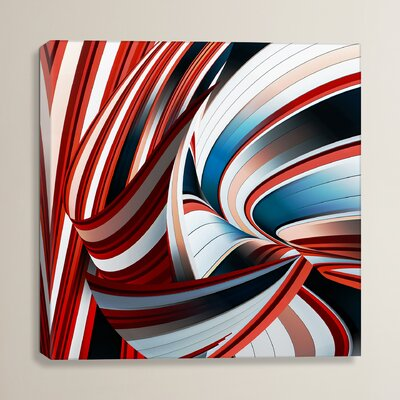 Passione Annodata by Gilbert Claes Graphic Art on Wrapped Canvas Size: 18