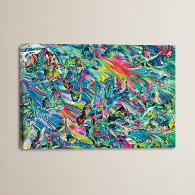 Untitled 15 by Mark Lovejoy Painting Print on Wrapped Canvas Size: 12