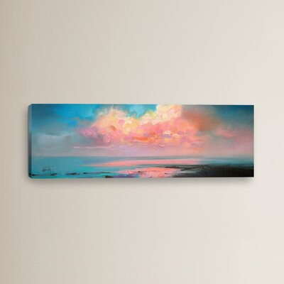 Atlantic Cumulus by Scott Naismith Painting Print on Wrapped Canvas