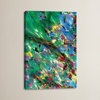 Untitled 8 by Mark Lovejoy Painting Print on Wrapped Canvas