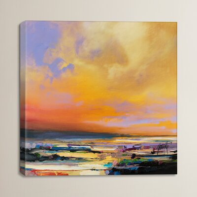Diminuendo Sky Study I by Scott Naismith Painting Print on Wrapped Canvas