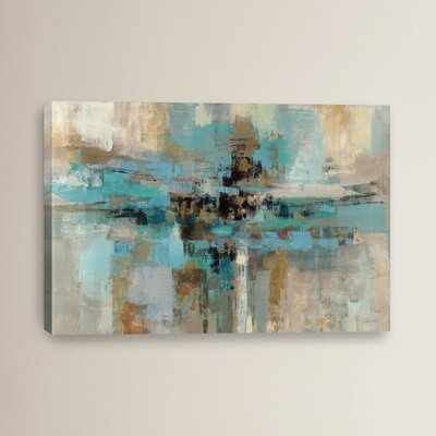 Morning Fjord Framed on Canvas
