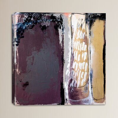 Closed Doors by Heather Chontos Painting Print on Wrapped Canvas