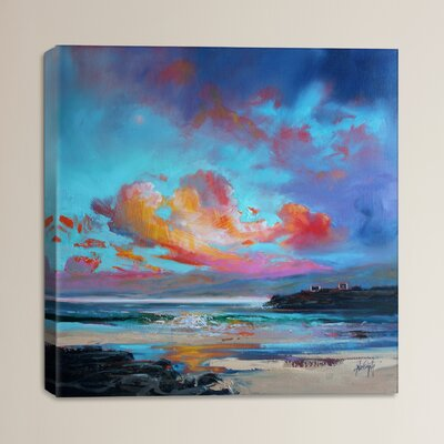 Uist Light II by Scott Naismith Painting Print on Wrapped Canvas Size: 18