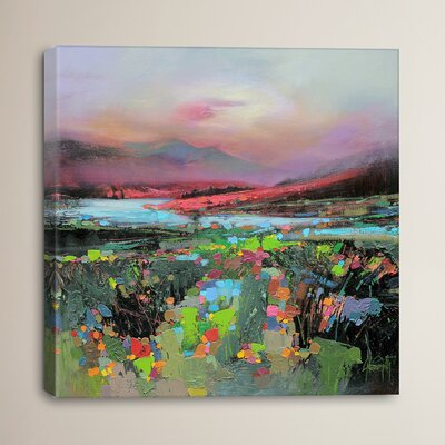 Highland Colour by Scott Naismith Painting Print on Wrapped Canvas