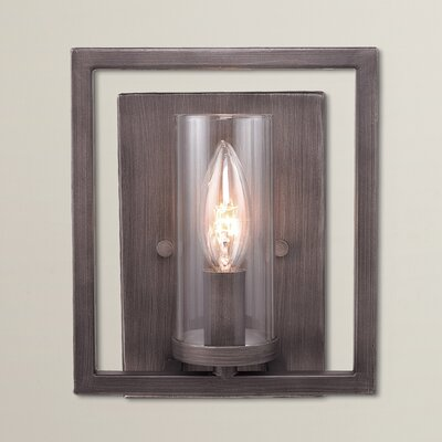 Politte 1-Light Wall Sconce Finish: Gunmetal Bronze