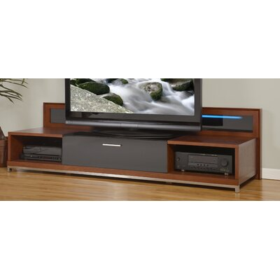 Ijaki 79 TV Stand Color: Walnut