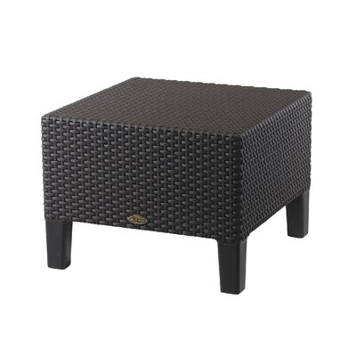 Loggins Patio Side Table Finish: Brown