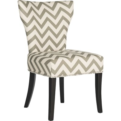 Kriebel Ring Side Chair Finish: Grey / White