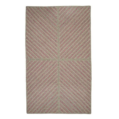 Loya Hand-Woven Pink Area Rug Rug Size: 3 x 5