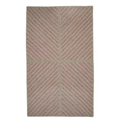 Loya Hand-Woven Pink Area Rug Rug Size: 8 x 10