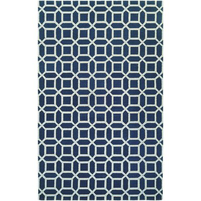 Lopes Hand Woven Wool Sapphire Area Rug Rug Size: Runner 23 x 71