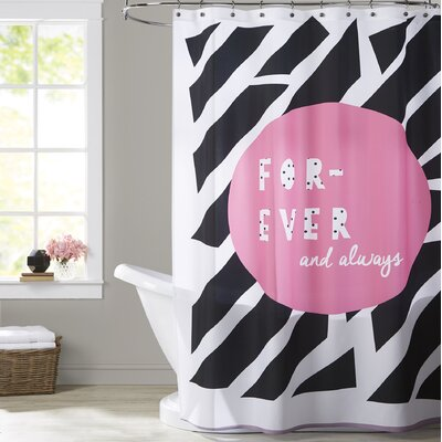 Ashlee Rae Forever and Always Shower Curtain