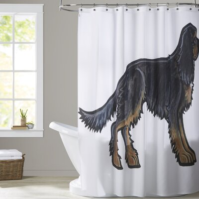 Toole Cavalier King Charles 2 Shower Curtain