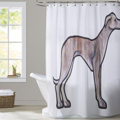 Beshears Whippet Shower Curtain