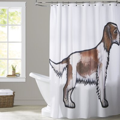 Albarran Springer Shower Curtain