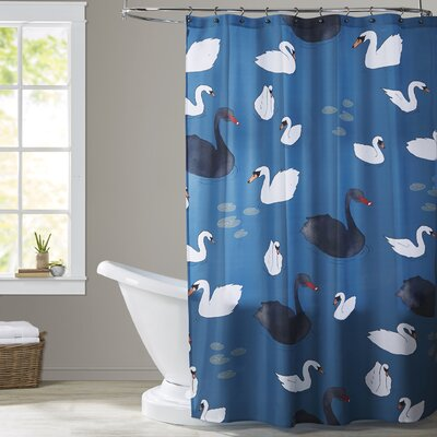 Pinheiro Swans Shower Curtain