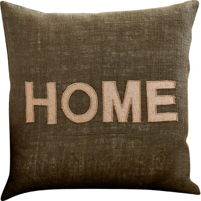 Woodfin Hot Home Jute Throw Pillow Size: 22 H x 22 W x 4 D, Filler: Down