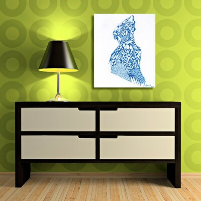 Swell of the Sea Painting Print on Wrapped Canvas Size: 20