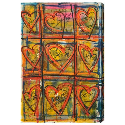 Book Painting Print on Wrapped Canvas Size: 15