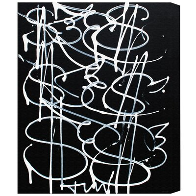 Brayden Studio Money Fly Painting Print on Wrapped Canvas