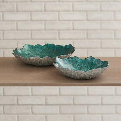 2 Piece Decorative Bowl Set