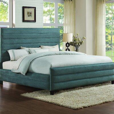 Luby Upholstered Platform Bed Size: California King