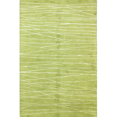 Lucus Hand-Tufted Guacamole Area Rug Rug Size: 86 x 116