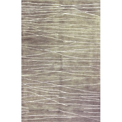 Manno Hand-Tufted Stone Area Rug Rug Size: 79 x 99