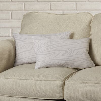 Mccloskey Decorative Satin Lumbar Pillow