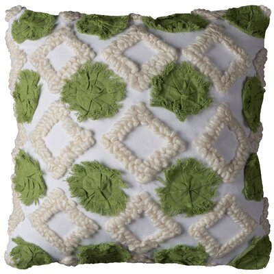 Mauch Cotton Pillow Cover Color: Green