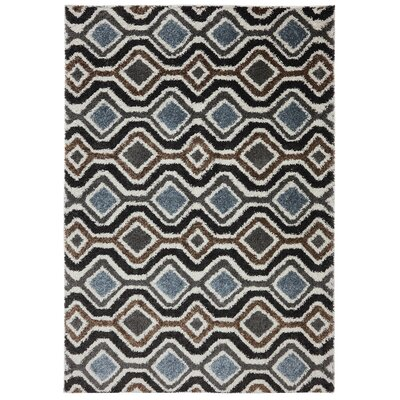 Mebane Brown Area Rug Rug Size: 8 x 11